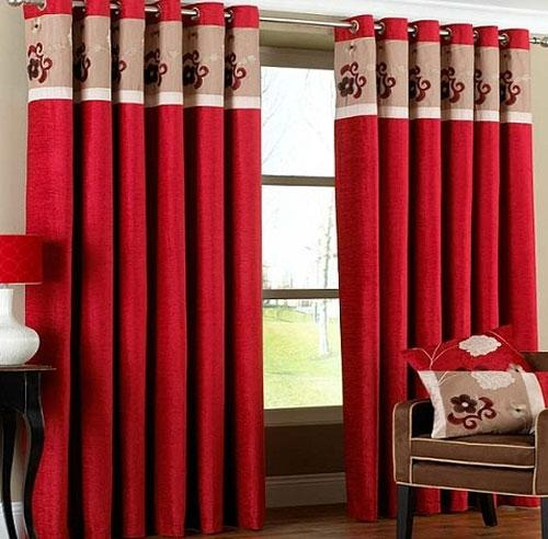 Choose beautiful curtains for the house to the sun lounger